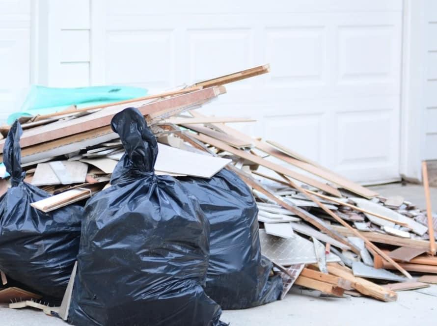 skrottaxi tjenester oppusningsavfall søppeltaxi, søppelhenting og avfallshenting