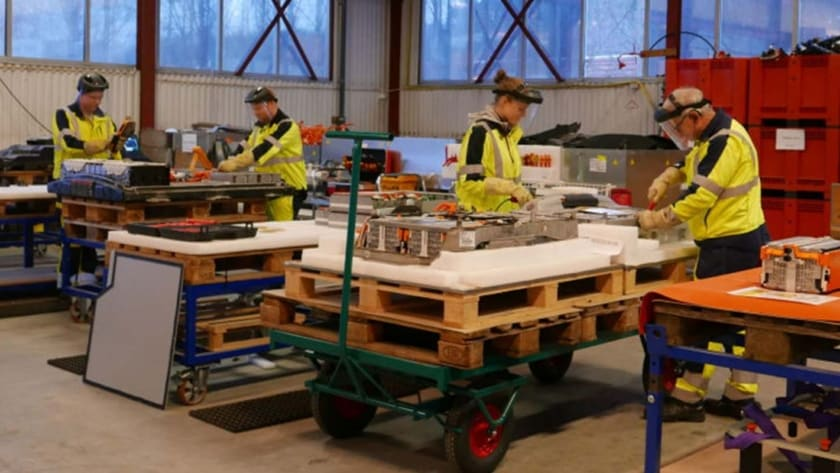 skrottaxi er best på søppeltaxi, søppelhenting og avfallshenting