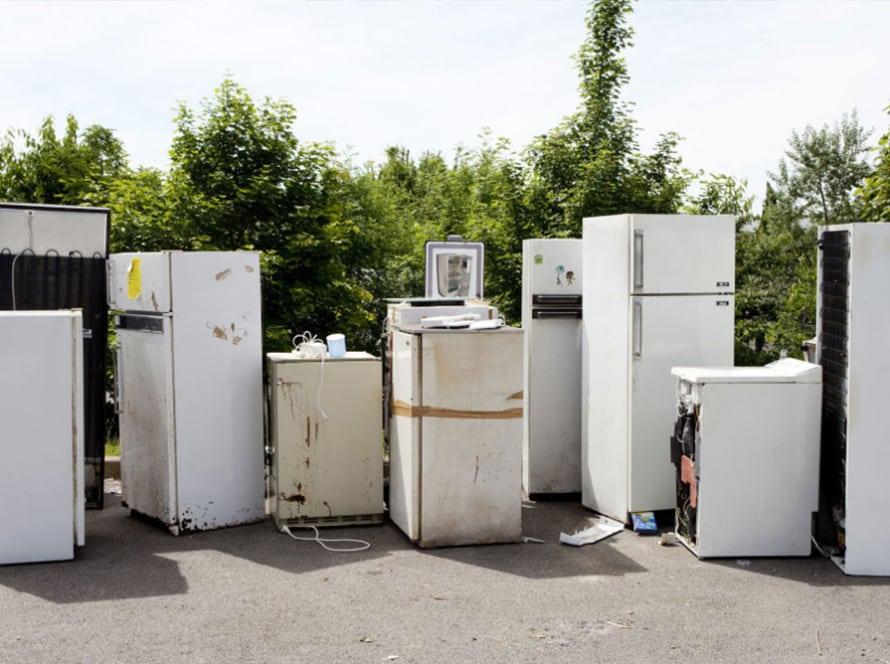 skrottaxi tjenester hvitevarer søppeltaxi, søppelhenting og avfallshenting