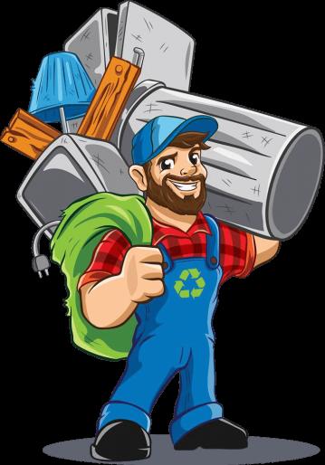 logo skrottaxi vi er best på søppeltaxi, søppelhenting og avfallshenting